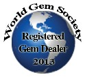 World Gem Society Registered Gem Dealer Logo