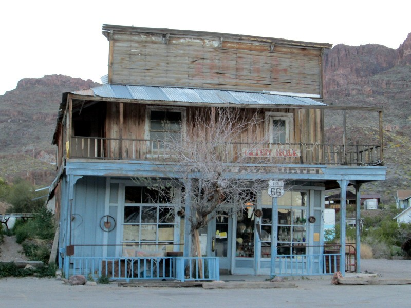Oatman Arizona Photo